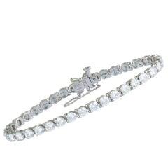 Tiffany & Co. Victoria Diamond Platinum Tennis Bracelet