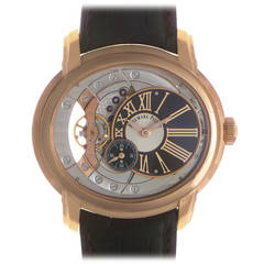 Audemars Piguet Rose Gold Millenary Automatic Wristwatch