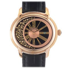 Audemars Piguet Ladies Rose Gold Millenary Morita Automatic Wristwatch