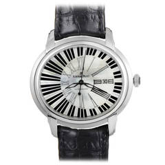 Audemars Piguet White Gold Millenary Pianoforte Automatic Wristwatch