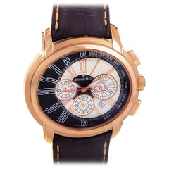 Audemars Piguet Rose Gold Millenary Chronograph Automatic Wristwatch