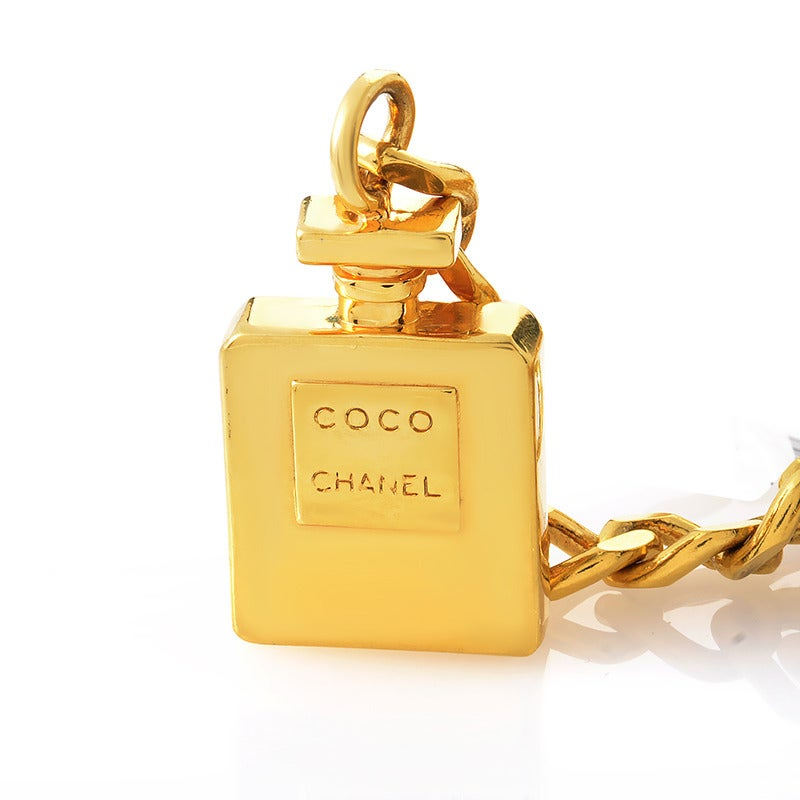 Chanel COCO CHANEL Perfume Bottle Belt For Sale at 1stdibs