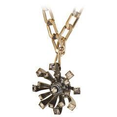 Lanvin Costume Brooch/Pendant Necklace