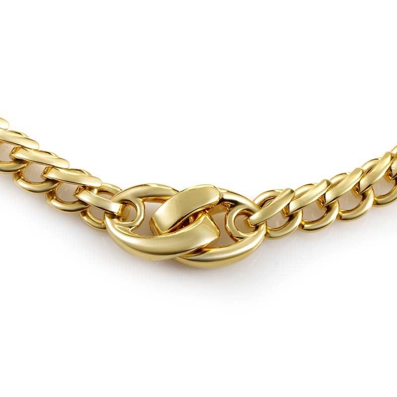 Pomellato Gold Chain Choker Necklace 2