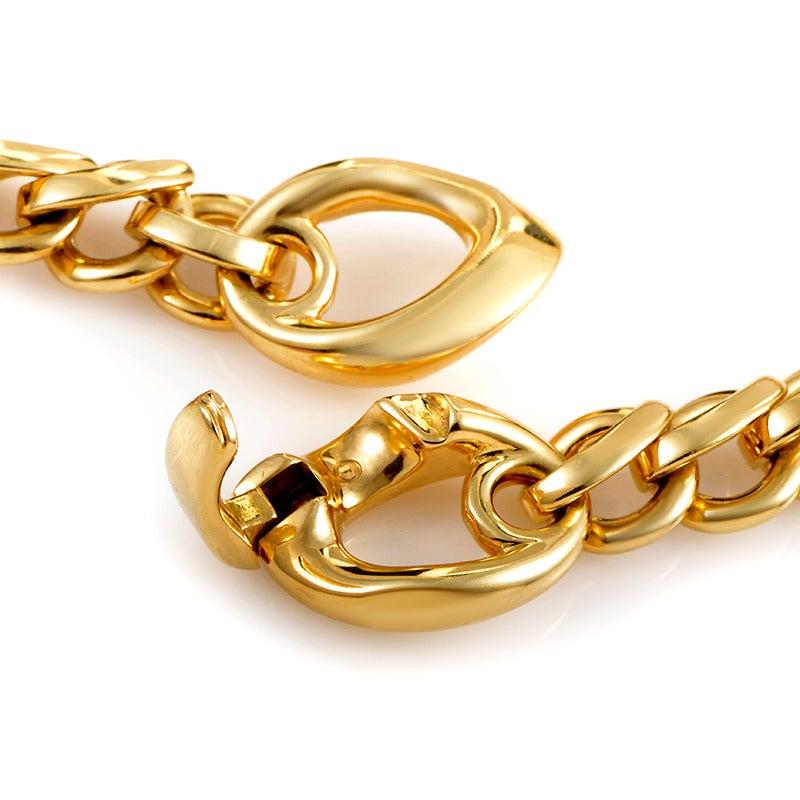 Pomellato Gold Chain Choker Necklace 4
