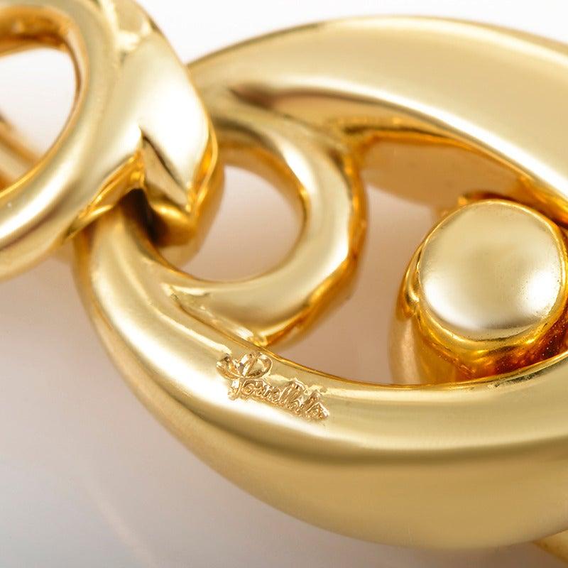 Pomellato Gold Chain Choker Necklace 5
