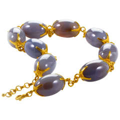 Gurhan Moonstone Gold Necklace