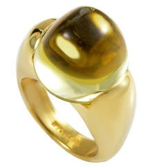 Ippolita Lemon Quartz Gold Ring