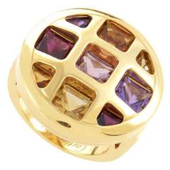 Cartier Pasha de Cartier Multi-Gem Yellow Gold Ring