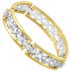 Stephen Webster Men's Multicolor Gold Thorn Bar Bracelet