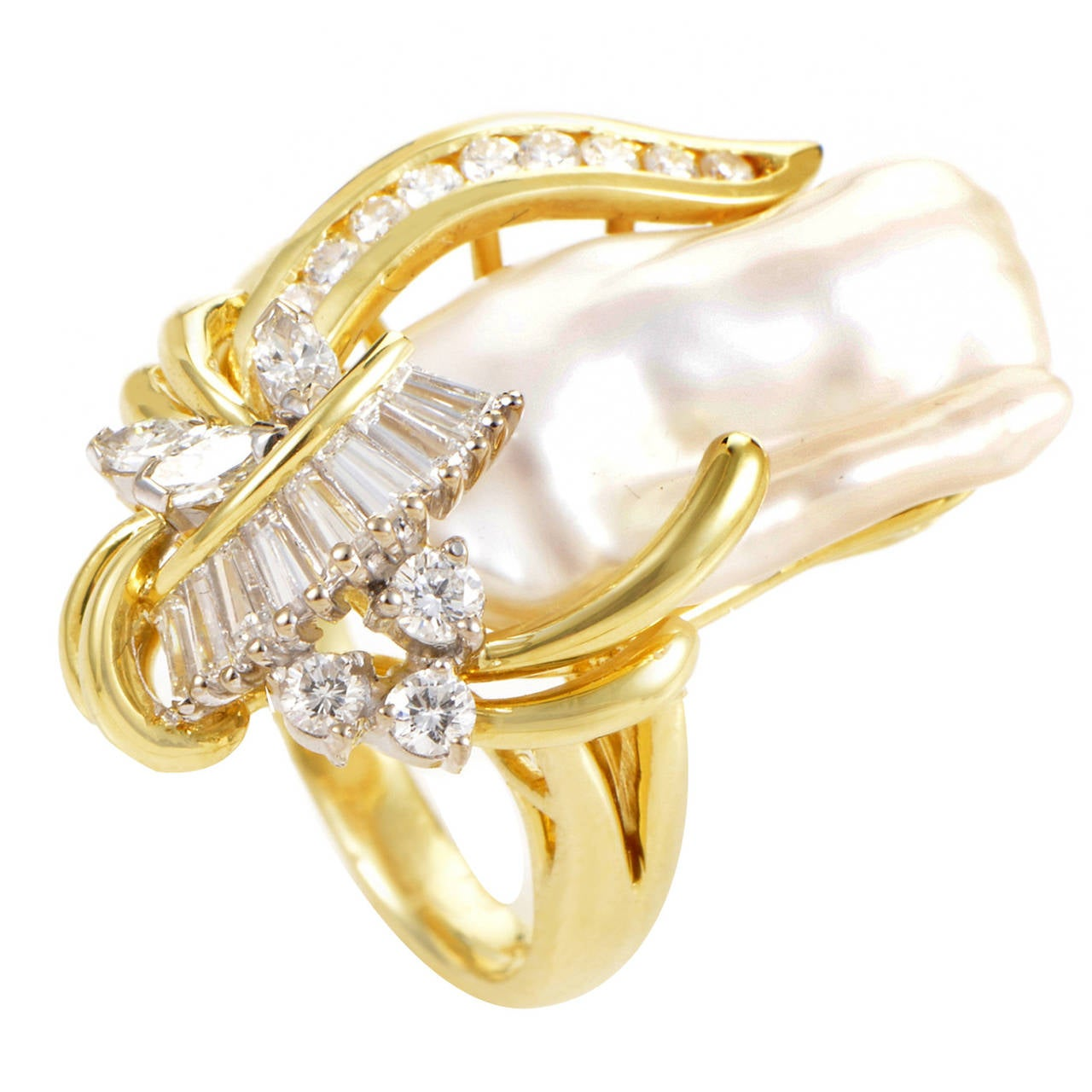 Baroque Pearl Diamond Gold Cluster Ring At 1stdibs. Assassin's Creed Rings. $4 Million Engagement Rings. Halo Rings. Pink Pearl Engagement Rings. 40 Carat Engagement Rings. Completely Wedding Rings. Rash Wedding Rings. Cut Diamond Engagement Rings