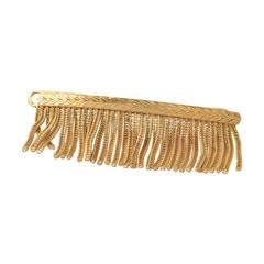 Cartier Vintage Rose Gold Hair Barrette