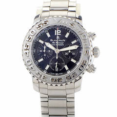 Blancpain Stainless Steel Fifty Fathoms Flyback Chronograph Wristwatch