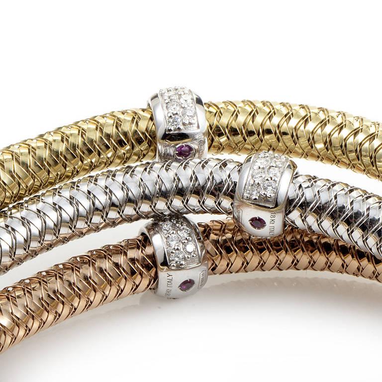 Gold Flexible Bangle Bracelet Best Bracelet 2018