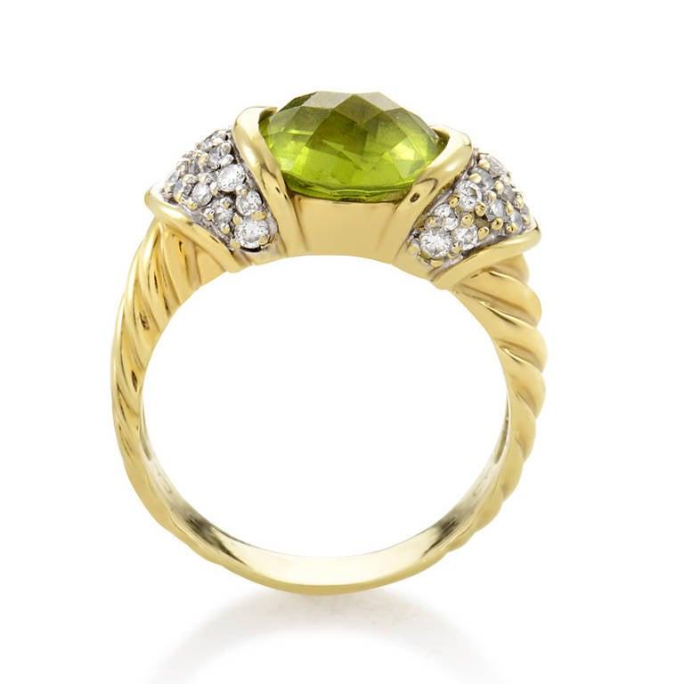 Peridot David Yurman Ring