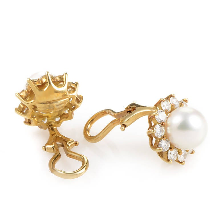 mikimoto earrings clip images