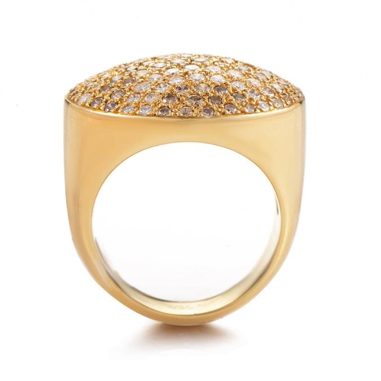 Cartier Diamond Pave Gold Ring 2
