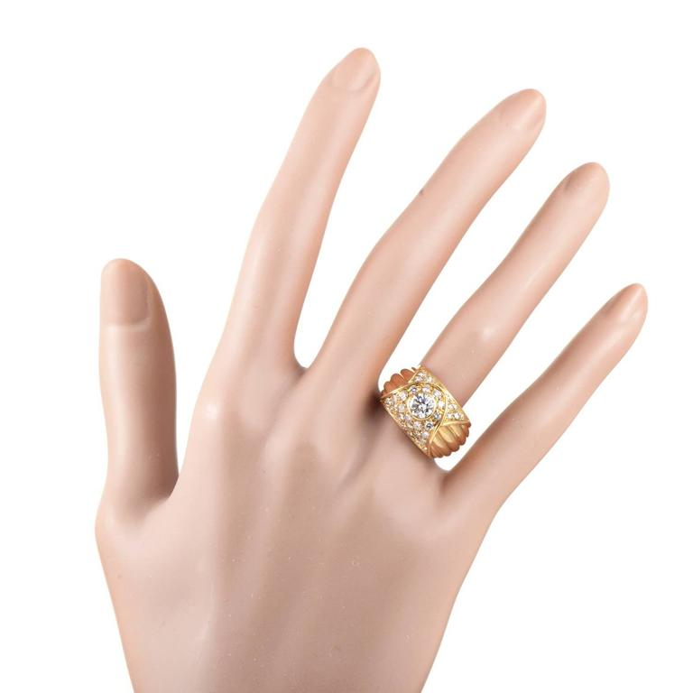Piaget Diamond Gold Band Ring For Sale 1
