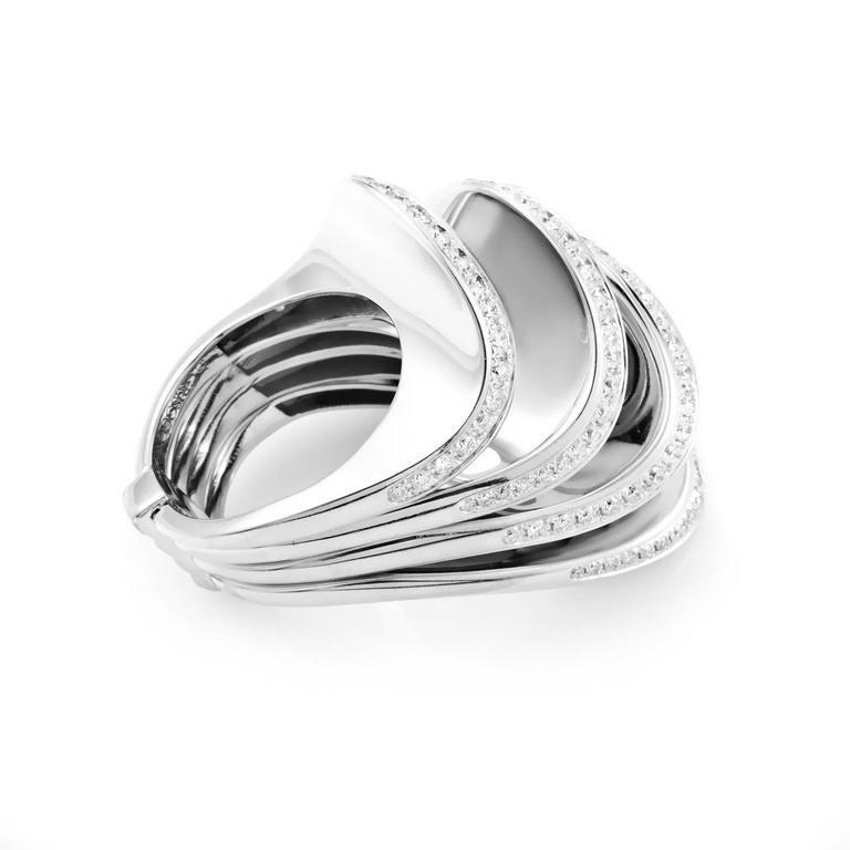 De Grisogono Multiband Diamond Gold Ring At 1stdibs. Brushed Finish Wedding Rings. Wedding Rings. Gallery Engagement Rings. Boring Engagement Rings. Older Style Engagement Rings. Pale Wedding Rings. High Quality Rings. Puzzel Wedding Rings