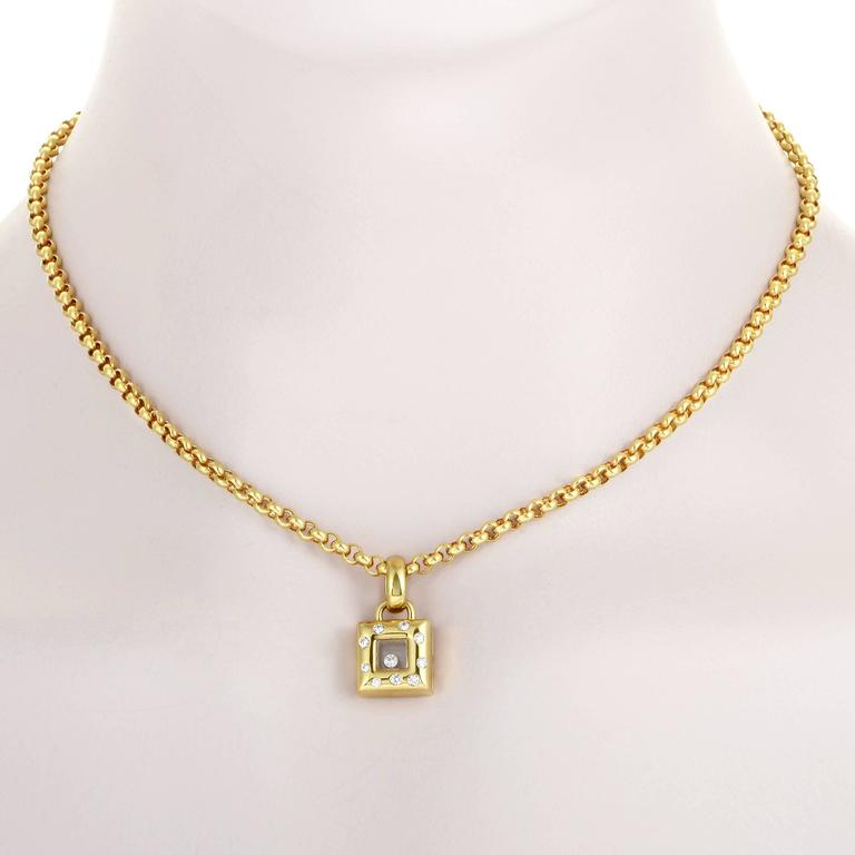 coin square image pendant pois roberto necklace moi jewellery petit rose gold
