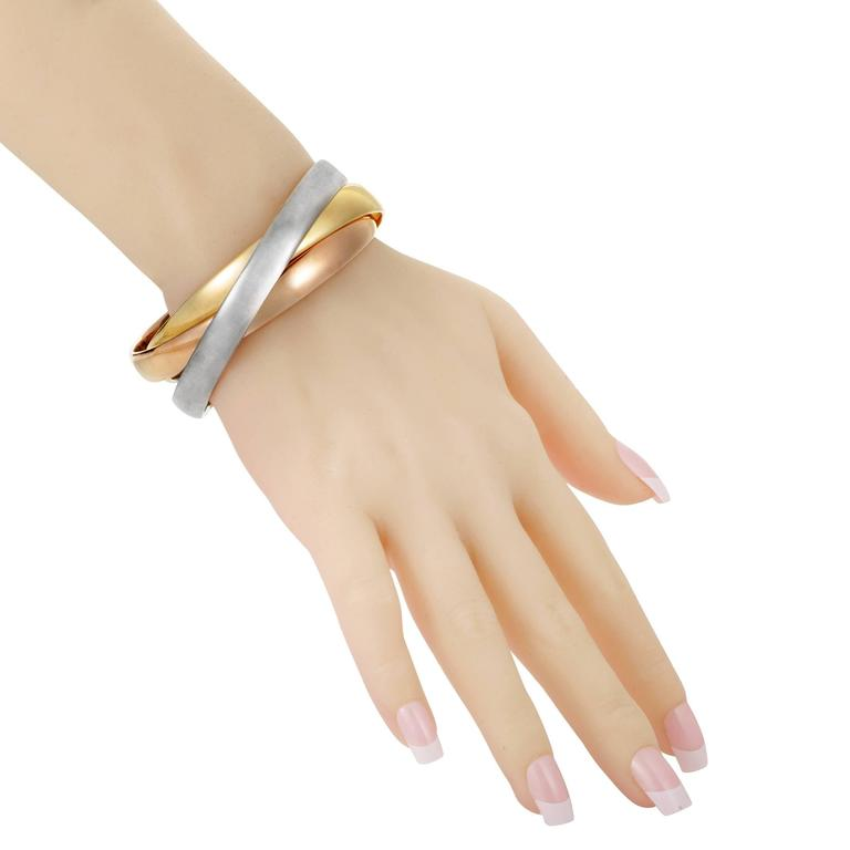 set listing brass bracelets il fullxfull silver copper three large small of and bangle bangles