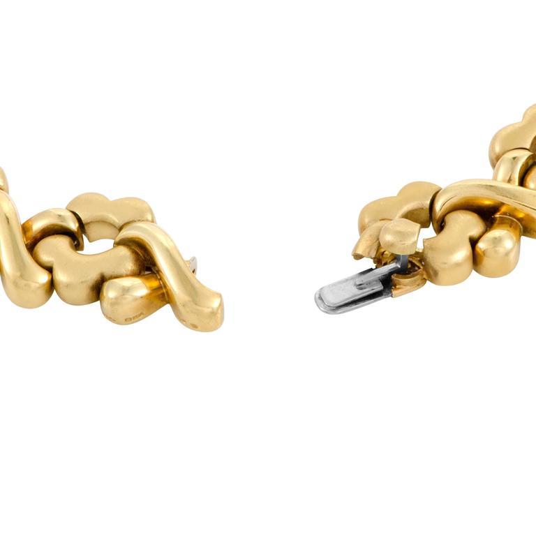 Garrard Diamond and Multi Gem 18 Karat Gold Necklace 4