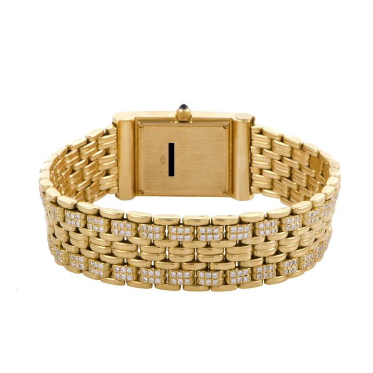 Boucheron Ladies Yellow Gold Diamond Les Montres Wristwatch 3
