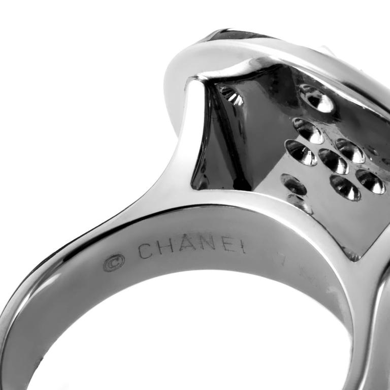 Chanel Comete Diamond Gold Ring 4