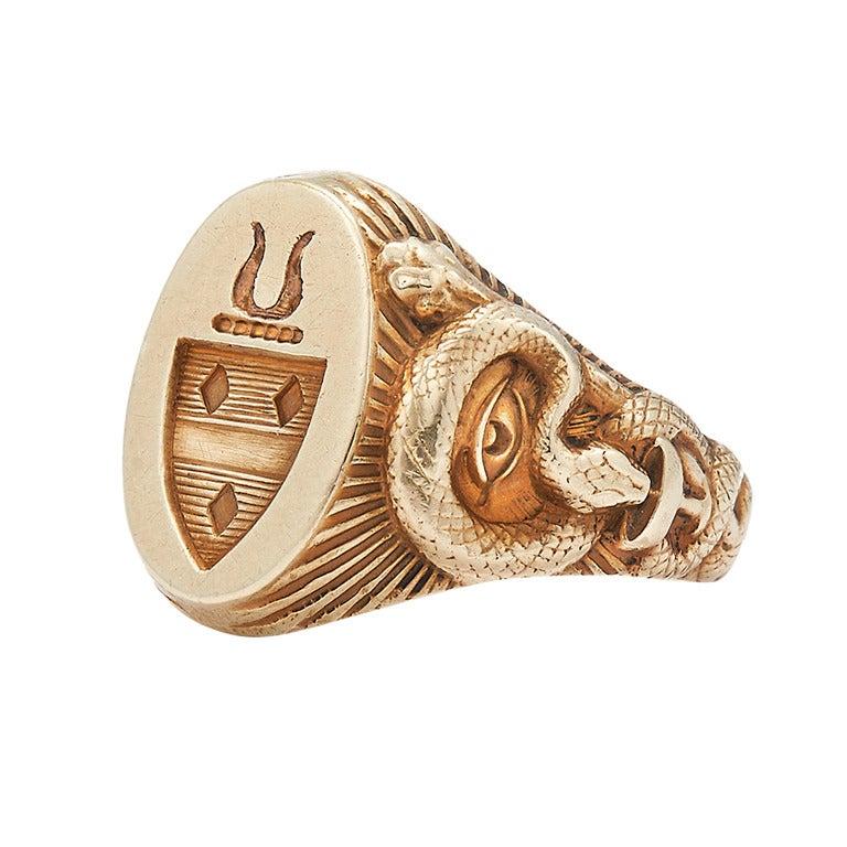 Signet Ring Tiffany Co