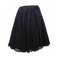 Kaufmanfranco Black Pleated Full Skirt