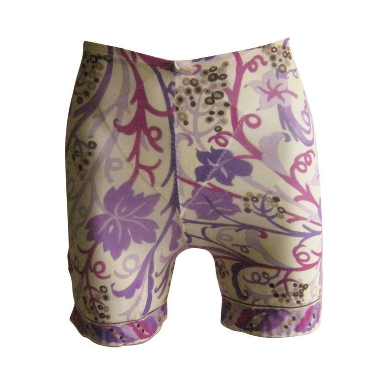 1960s Emilio Pucci for Formfit Rogers Girdle Shorts