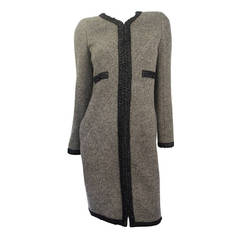 Chanel Alpaca - Cashmere Sweater Coat