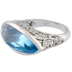 Carrera y Carrera Blue Topaz Ring