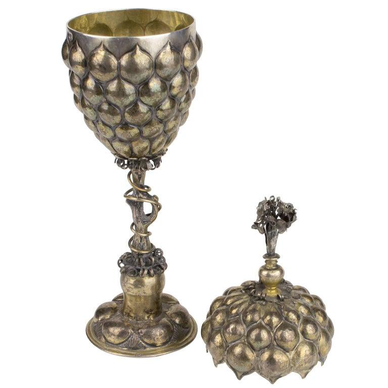 17th Century German Silver Ceremonial Cup