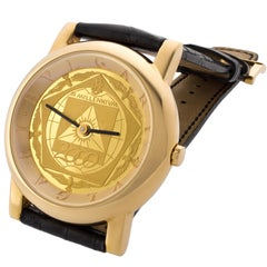 Bulgari Limited Edition 18 Karat Gold Anfiteatro III Millenium Wristwatch