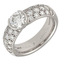 Tiffany & Co. Platinum and Diamonds Ring