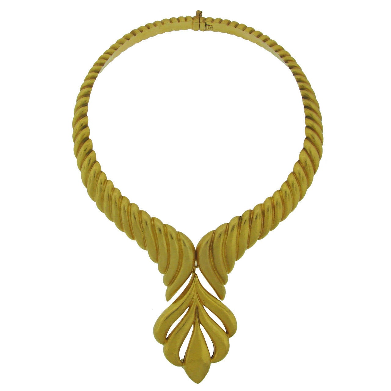 Zolotas Yellow Gold Necklace