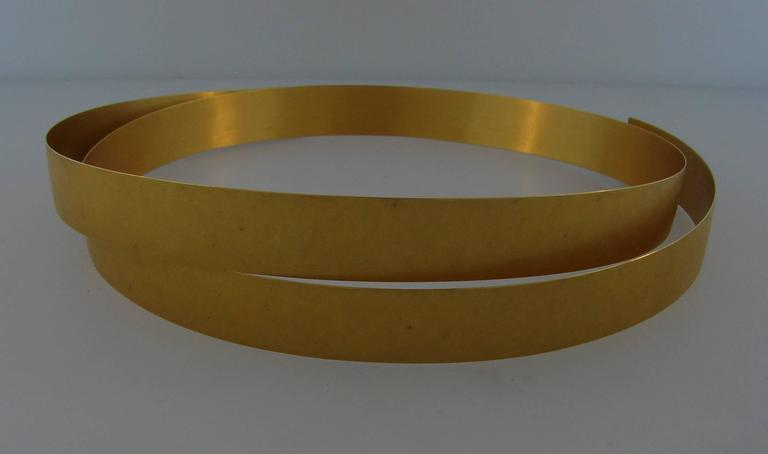 Yellow Gold Choker Necklace 6