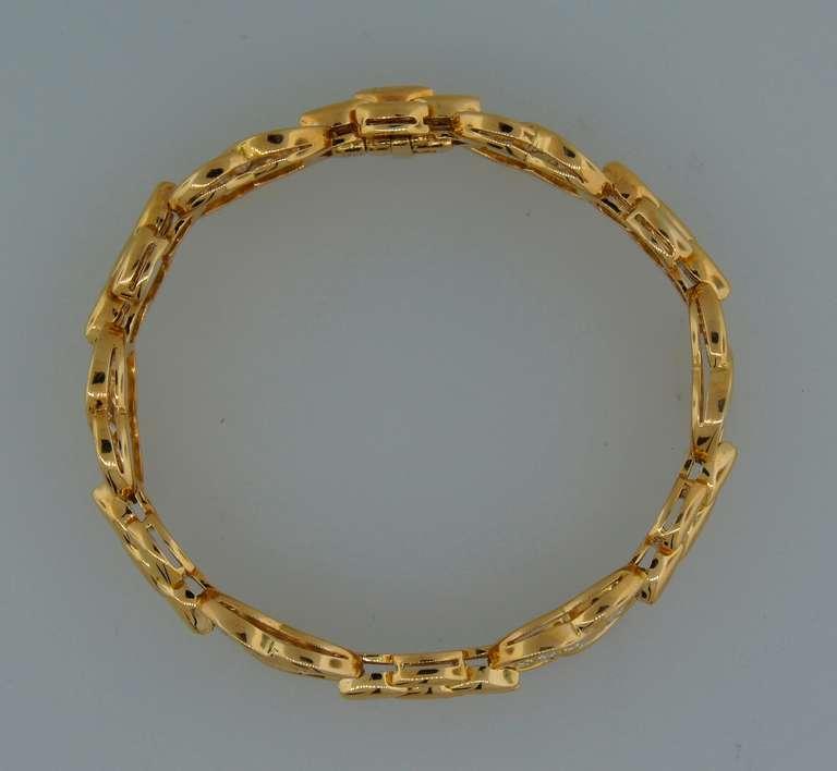 VAN CLEEF & ARPELS Diamond  Yellow Gold Bracelet 5
