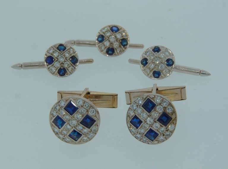 cufflinks and studs how to put on