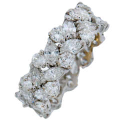 Sterle Paris Diamond Gold Band Ring