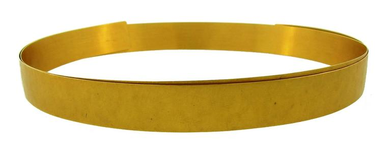 Yellow Gold Choker Necklace 1