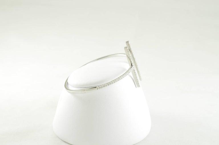 Modern Dual Bar Bracelet For Sale