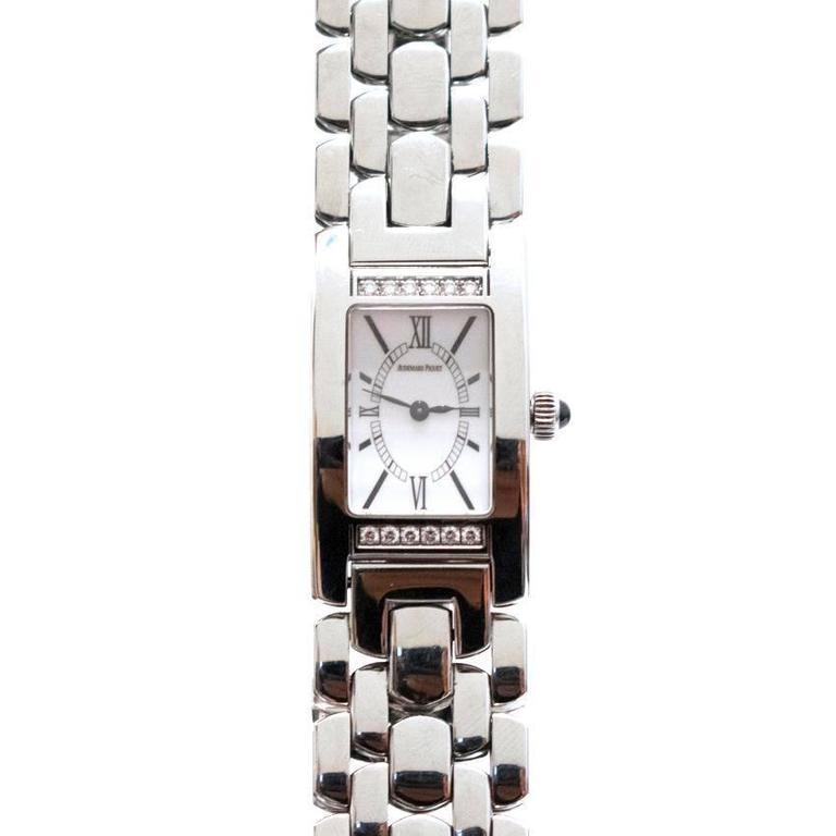 Audemars Piguet Promesse Diamond Stainless Steel Watch