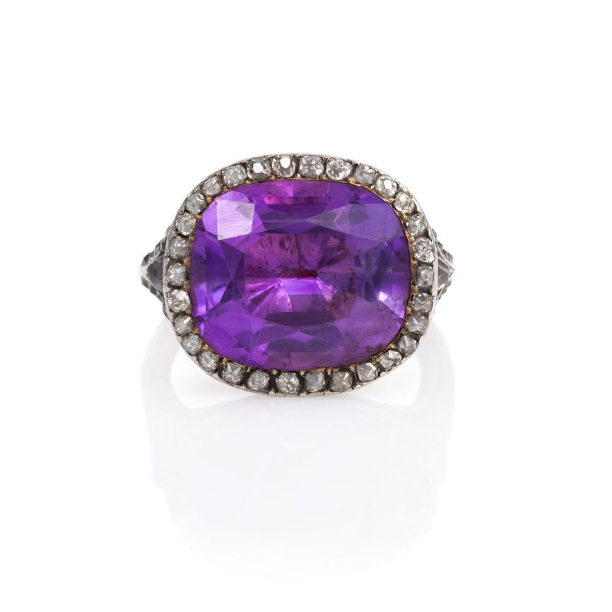 amethyst rings - photo #13