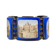 Superb Early 19th Century Micromosaic Bracelet