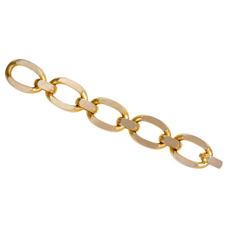1960s Italian Gold Bracelet
