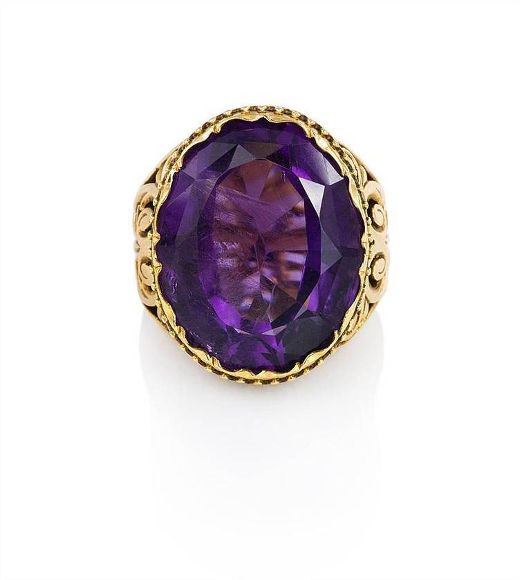 amethyst rings - photo #18