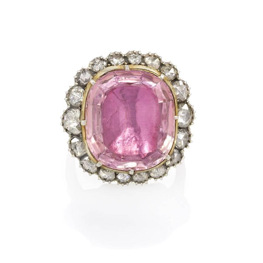 antique topaz gold ring for sale at 1stdibs