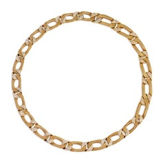 Georges L'Enfant Gold and Diamond Necklace, Convertible to Collar and Bracelet